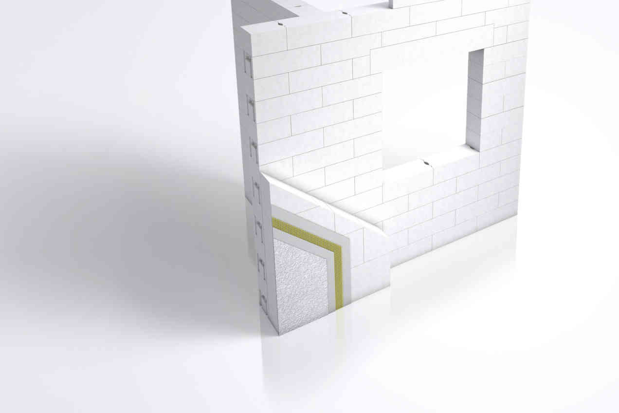 Xella Tragende Wand mit WDVS 10385 High Res