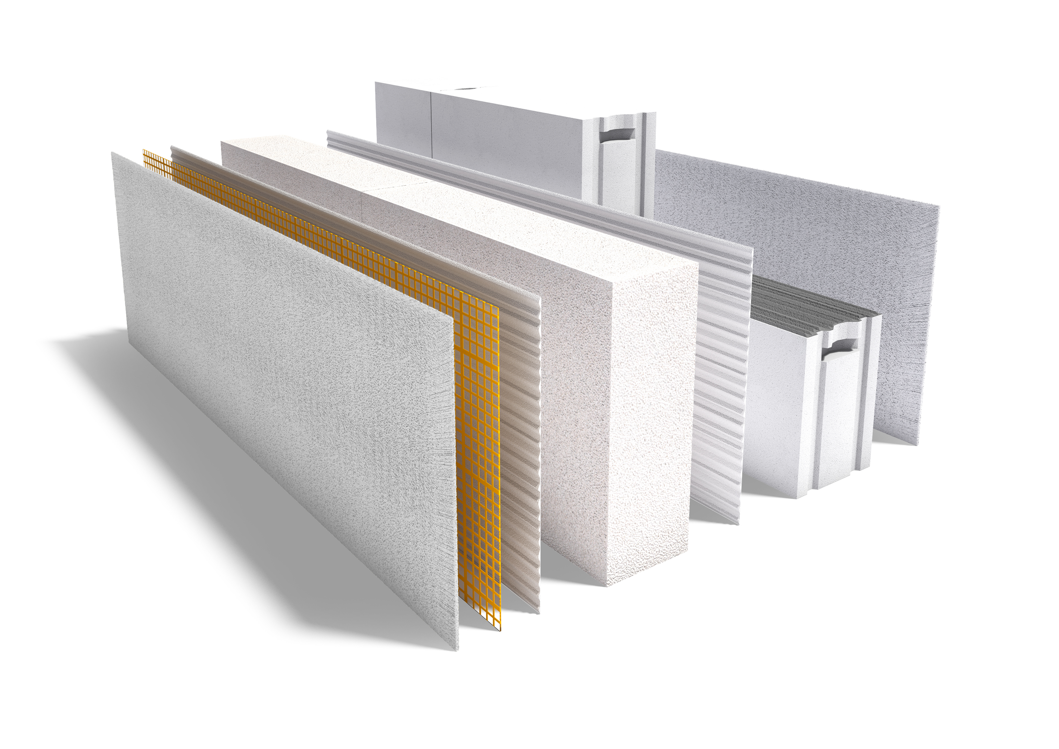 Ytong thermstrong with insulation