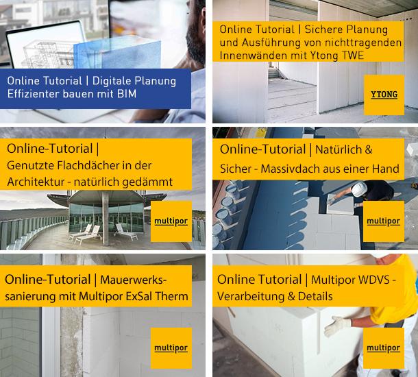 Online Tutorial Archiv Xella Schweiz